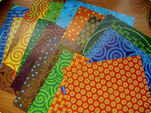 Это проба новой бумаги для оригами. Фон, рыбка, звезда - из нового набора. фото 4