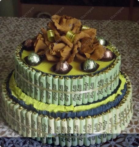 мой первый тортик  фото 1