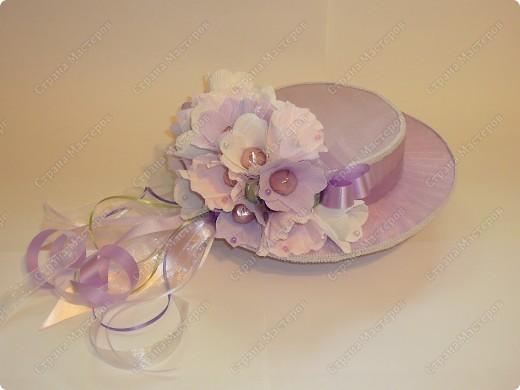 Шляпка для выпускницы. фото 1