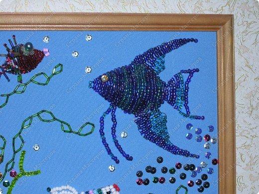 """Здравствукйте, девчата! НА юбилей дедушке захотелось нам с дочей сделать в подарок что-нибудь особенное, необычное. А поскольку в нашей семье очень любят рыб, рыбешек и вообще рыбалку, то идея с подарком воспринялась """"на ура"""". И работа закипела... фото 2"""