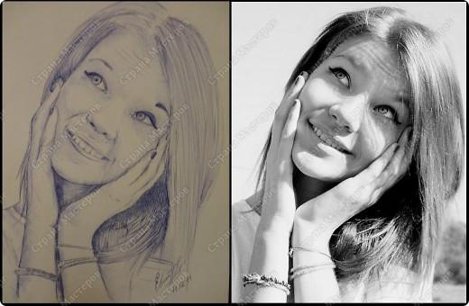 Портрет подруги Даши фото 1