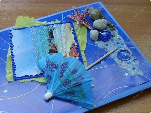 С мечтою об отдыхе на море сделалась эта открытка. Пустынный берег, шум волн, зонт от солнца и полная нирвана.... фото 2