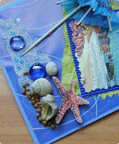 С мечтою об отдыхе на море сделалась эта открытка. Пустынный берег, шум волн, зонт от солнца и полная нирвана.... фото 3
