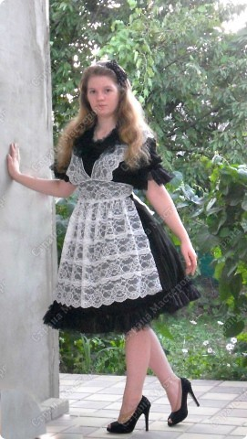 "школьная форма в стиле ""Алиса в стране чудес"" фото 1"