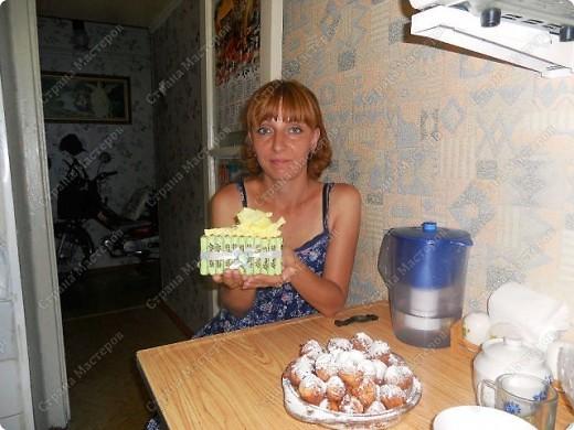 Насмотрелась на сайте тортиков и самой кусочек захотелось сделать фото 3