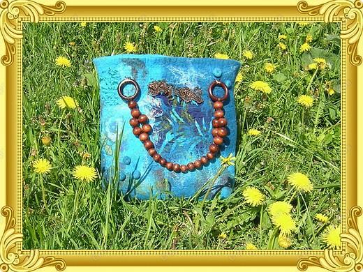 Любимая первая валяная сумка! фото 2