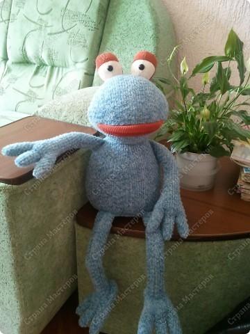 Заказали лягушку да не простую , а по фото взятом из интернета, нужна была точно такая же!!!  фото 2