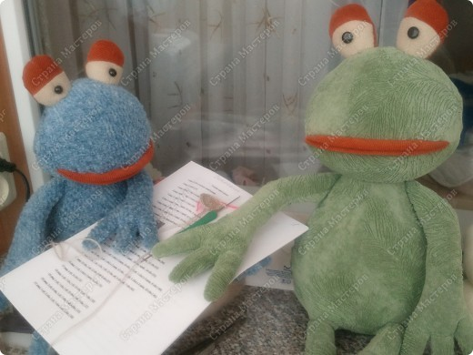Заказали лягушку да не простую , а по фото взятом из интернета, нужна была точно такая же!!!  фото 11