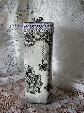 Любимые салфетки, их я использовала и в открытках    https://stranamasterov.ru/node/379531   фото №8         Подставка под горячее и баночка из- под чая для чая :) или еще для каких-нибудь сыпучестей. фото 4