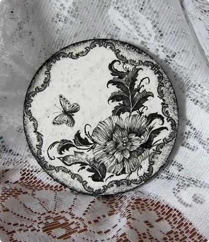 Любимые салфетки, их я использовала и в открытках    http://stranamasterov.ru/node/379531   фото №8         Подставка под горячее и баночка из- под чая для чая :) или еще для каких-нибудь сыпучестей. фото 2