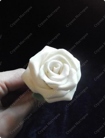 Белая роза (ХФ по самому простому рецепту) фото 2