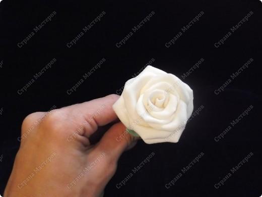 Белая роза (ХФ по самому простому рецепту) фото 1