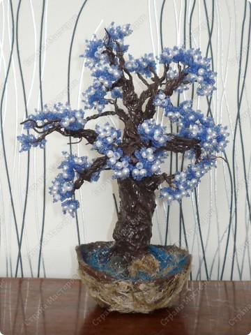 не знаю как его назвать)) Просто синее деревце)) фото 2