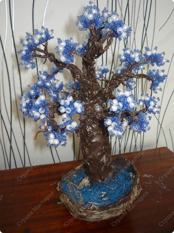 не знаю как его назвать)) Просто синее деревце)) фото 4
