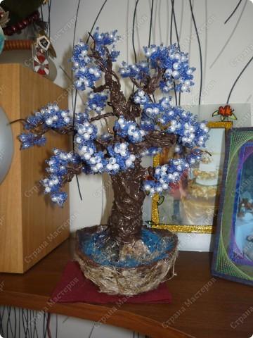 не знаю как его назвать)) Просто синее деревце)) фото 5