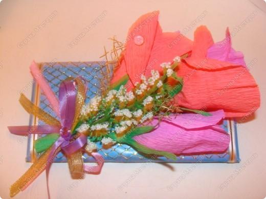 Здравствуй, Страна!!! Наделала сладкие подарочки воспитателям, в садик. Завтра побежим с Гришей поздравлять))) фото 5