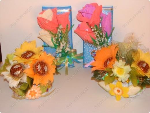 Здравствуй, Страна!!! Наделала сладкие подарочки воспитателям, в садик. Завтра побежим с Гришей поздравлять))) фото 8