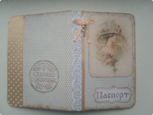 Обложка на паспорт. фото 1