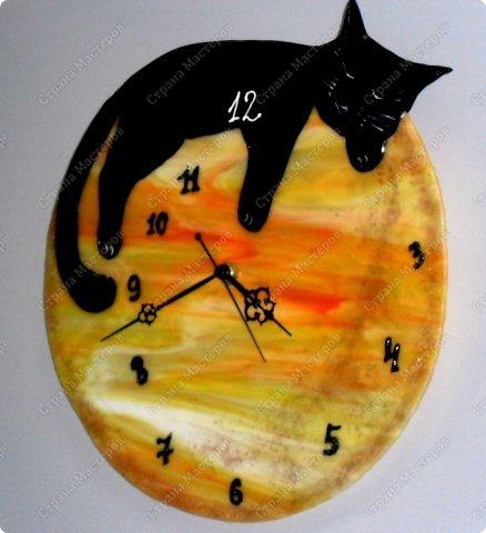 """Часы фьюзинг.""""Мой Котэ"""" фото 1"""