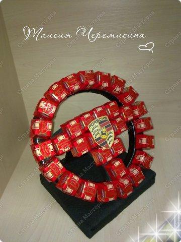 Руль из конфет мерседес. Как сделать руль из конфет своими руками.