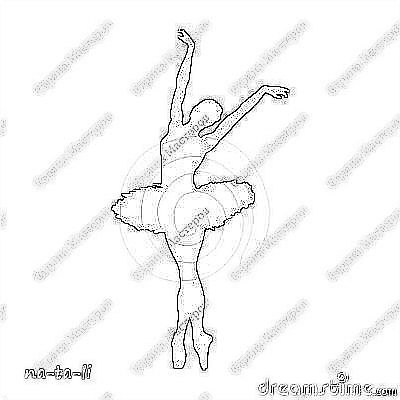 Вытынанка - Мои воздушные балерины.