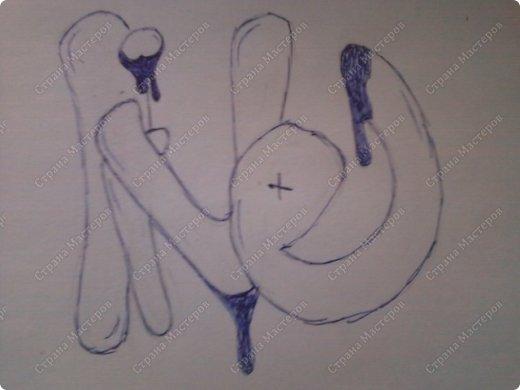 граффити рисунки на бумаге: