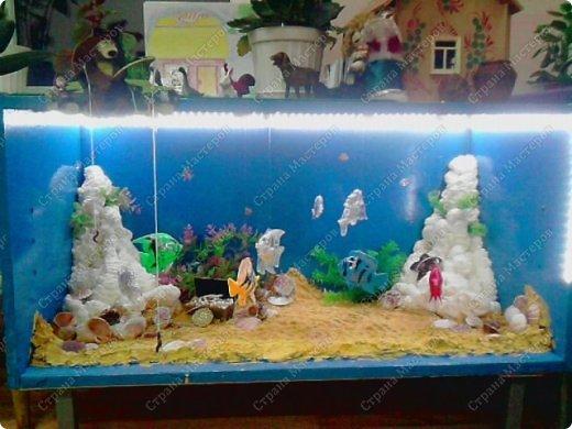 Как сделать аквариум в доу