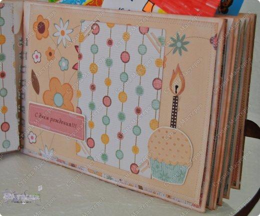 На глаза попался отличный мастер класс по созданию альбома из конвертов - http://scrap-pygovka.blogspot.ru/2013/03/blog-post_4596.html.  Спасибо большое автору МК  Мандине!!! фото 5
