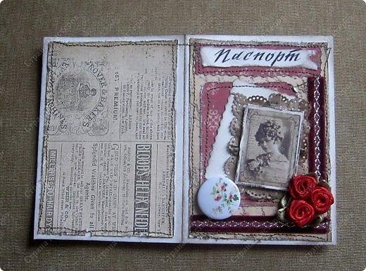 Обучаясь на курсах У Анны Валерьевны, заразилась обложками.Пыталась сделать их в разных стилях. Эта - для дам. фото 3