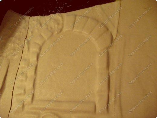 Декор предметов Мастер-класс Ассамбляж Ключница-панно из кожи -'Молдавский дворик   Дерево Картон гофрированный Клей Кожа Краска Салфетки фото 12