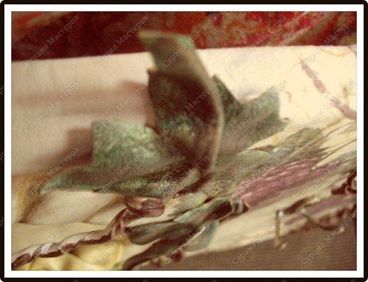 Декор предметов Мастер-класс Ассамбляж Ключница-панно из кожи -'Молдавский дворик   Дерево Картон гофрированный Клей Кожа Краска Салфетки фото 10