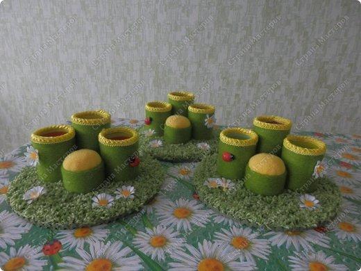 Мастер-класс Поделка изделие Картонаж Мои подставочки на стол и небольшой МК Диски виниловые Кружево Материал бросовый Овощи фрукты ягоды фото 15