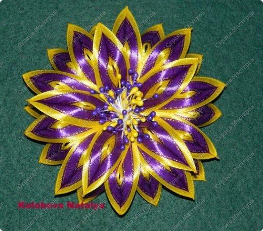 Цветы канзаши своими руками мастер класс фото