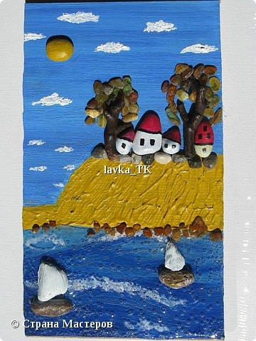 Pebble Art : летние фантазии с морской галькой фото 2