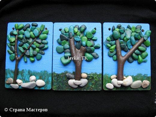 Pebble Art : летние фантазии с морской галькой фото 1