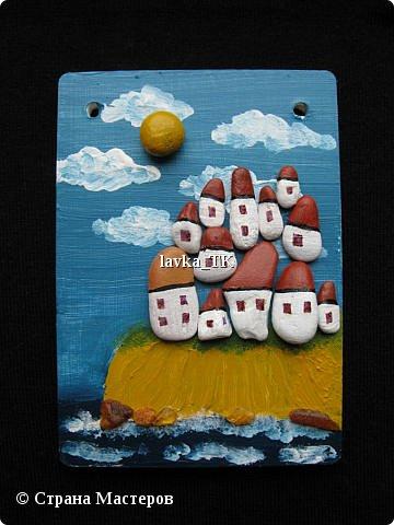 Pebble Art : летние фантазии с морской галькой фото 7