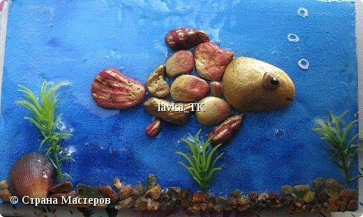 Pebble Art : летние фантазии с морской галькой фото 3
