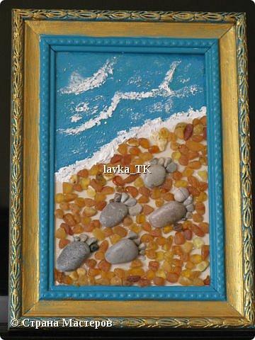 Pebble Art : летние фантазии с морской галькой фото 6