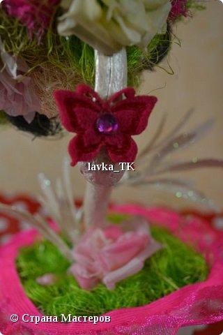 Топиарий из роз фото 3