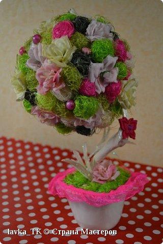 Топиарий из роз фото 1