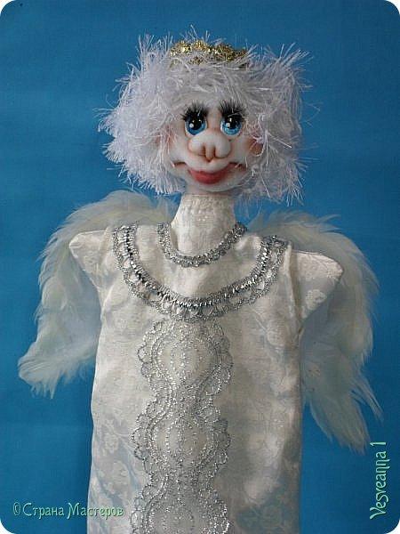 Здравствуйте! Недавно шила перчаточных кукол для детского кукольного театра http://stranamasterov.ru/node/1011860 . Для Ангела мне нужно было сшить крылья, чтобы они были прочными, легкими и не оттягивали платье куклы. Кукла перчаточная, одевается на руку. Может быть мой небольшой мастер-класс будет полезен. фото 1