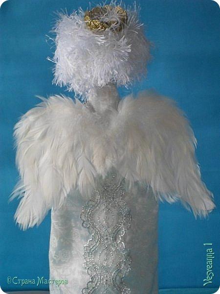 Здравствуйте! Недавно шила перчаточных кукол для детского кукольного театра http://stranamasterov.ru/node/1011860 . Для Ангела мне нужно было сшить крылья, чтобы они были прочными, легкими и не оттягивали платье куклы. Кукла перчаточная, одевается на руку. Может быть мой небольшой мастер-класс будет полезен. фото 14