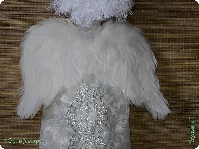 Здравствуйте! Недавно шила перчаточных кукол для детского кукольного театра http://stranamasterov.ru/node/1011860 . Для Ангела мне нужно было сшить крылья, чтобы они были прочными, легкими и не оттягивали платье куклы. Кукла перчаточная, одевается на руку. Может быть мой небольшой мастер-класс будет полезен. фото 12