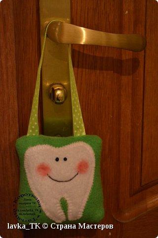 У моих детей выпадают зубы , сначала придумали коробочки с мышками, а теперь уже и подушечки с кормашками)) фото 2