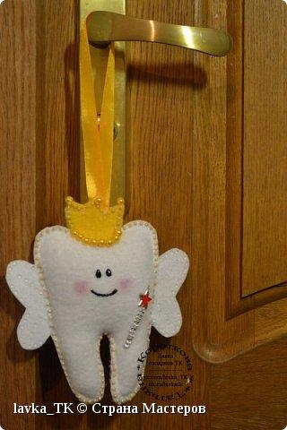 У моих детей выпадают зубы , сначала придумали коробочки с мышками, а теперь уже и подушечки с кормашками)) фото 3
