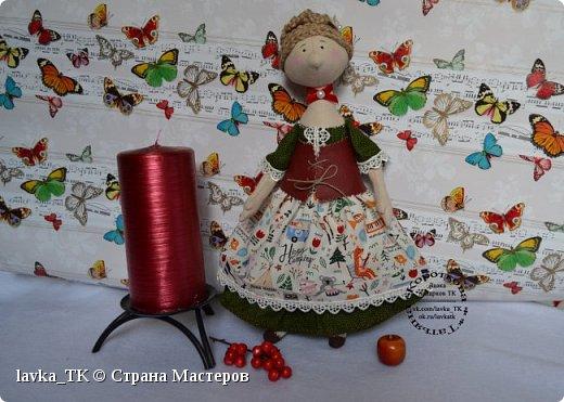 Посмотрев подробный МК у мастера, решилась на пошив очередной куколки, самое интересное,что затягивает шитье) фото 1