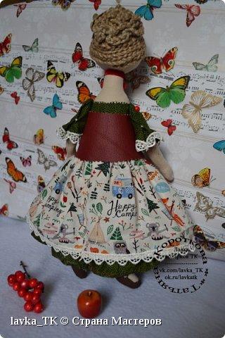 Посмотрев подробный МК у мастера, решилась на пошив очередной куколки, самое интересное,что затягивает шитье) фото 2