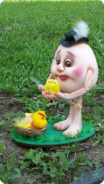 Здравствуйте все, кто заглянул в гости!  Захотелось сделать к Пасхе яйцо в чулочной технике. фото 5