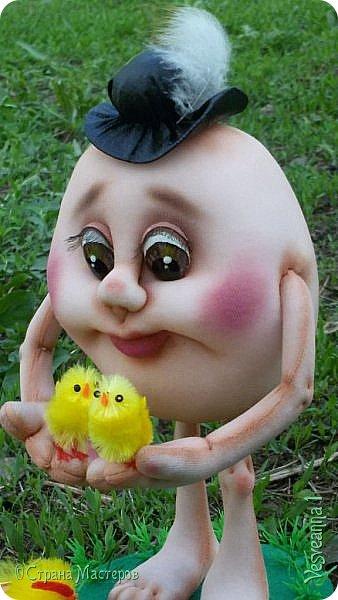 Здравствуйте все, кто заглянул в гости!  Захотелось сделать к Пасхе яйцо в чулочной технике. фото 1