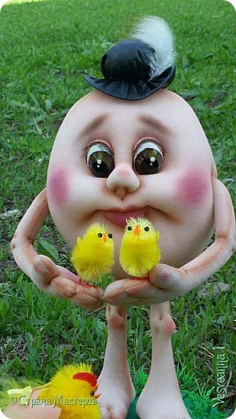 Здравствуйте все, кто заглянул в гости!  Захотелось сделать к Пасхе яйцо в чулочной технике. фото 9
